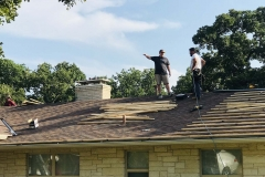 Roof replacement by Burleson general contractors