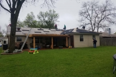 Roof replacement in Weatherford, TX