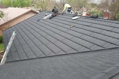 Roof leak repair in Weatherford