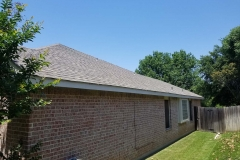 Home renovation with new roof in Arlington
