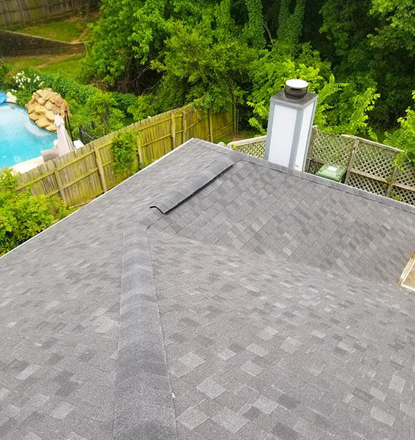 Roof replacement for Arlington home
