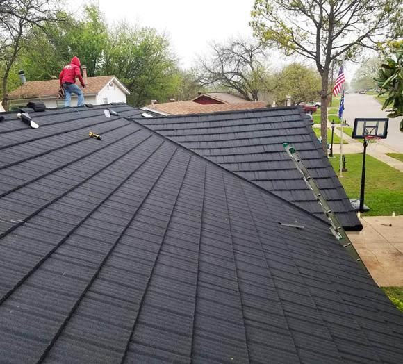 Roof replacement in Fort Worth