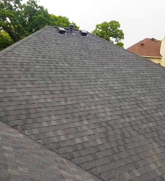 New roof in Haltom City