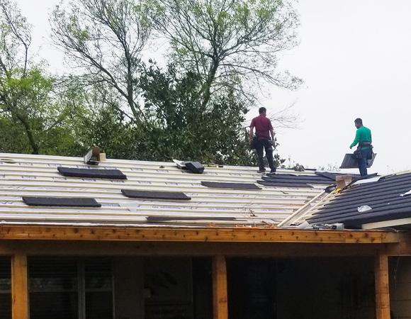 New roof in Irving