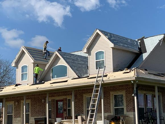 Roof leak repair in Haltom City, Fort Worth, Weatherford, TX